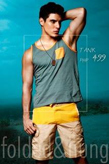 Folded and hung summer 2014 lookbook swimwear (2)