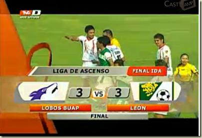 Lobos 3-3 León