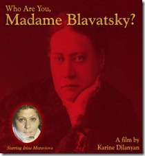 Cartel película_who are you madame blavatsky_ protagonizada por irina muraviova