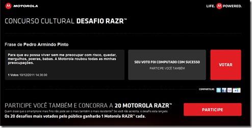 motoroloa RARZ 2