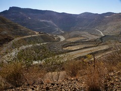 The Chino (Santa Rita) mine.  One of the largest and oldest open pit copper mines in the world.