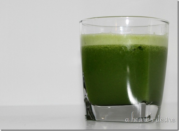 Juicing, Green Machine