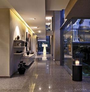 Casa moderna montrose arquitecto saota arquitectura - Suelos de casas modernas ...