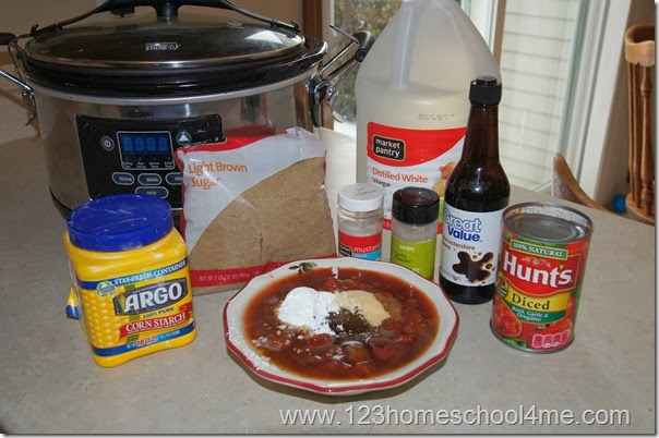 Homemade BBQ Sacue Recipe for Crockpot