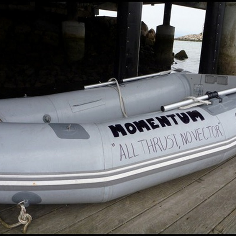 Naming our dinghy