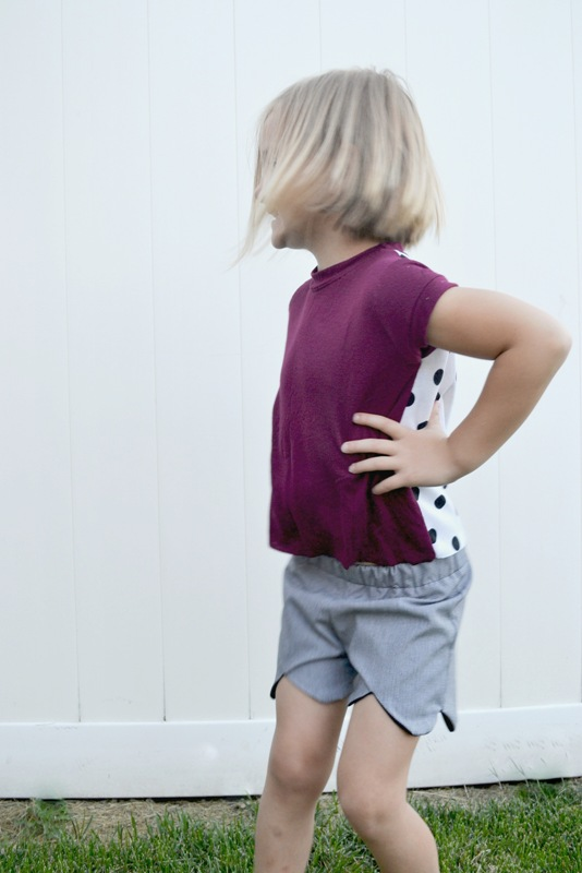 Adventure Tee and MADE Kids Shorts
