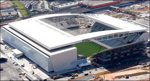 Ver Online Estadio Arena do Corinthians, escenario de Ceremonia Apertura del Mundial Brasil 2014 (HD)