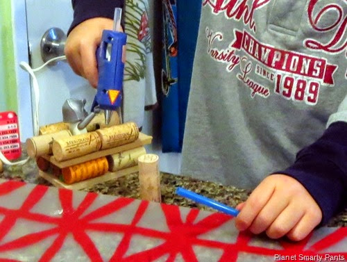 Build a Boat with a Hot Glue Gun from Planet Smarty Pants
