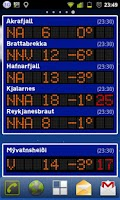 Screenshot of Veðrið