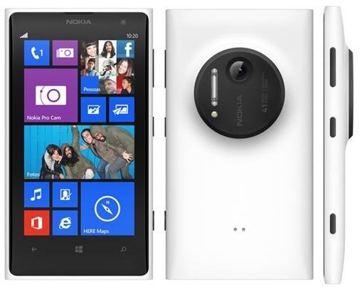 celular da marina - smartphone nokia lumia 1020 branco