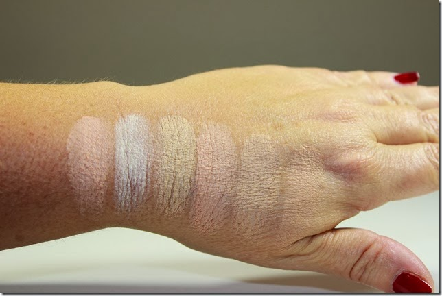 Laura Mercier Secret Camouflage swatches