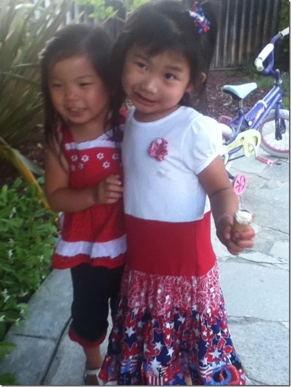 Hannah and Jenny