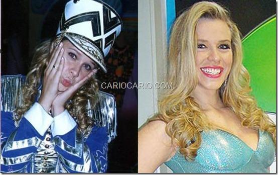 Depois que saiu da Xuxa, em 2002, Daiane Amêndola, a Docinho, foi dançarina do Faustão e hoje é assistente de palco do Silvio Santos, no SBT