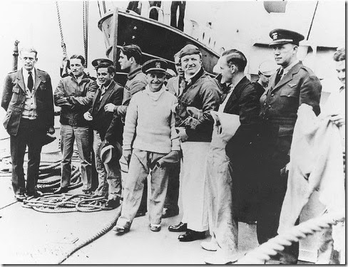 George Mills and other Macon survivors