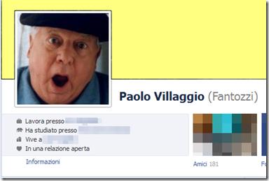 Profilo Facebook con Nome alternativo