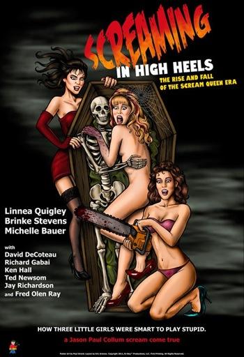 Screaming in high heels dvd art