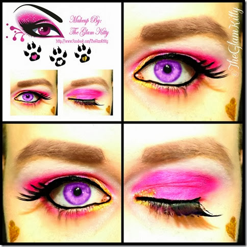 Draculaura 13 Wishes Collage Glam