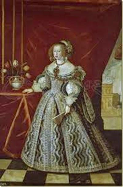 Mariana de Austria, reina de España y segunda consorte de Don Felipe IV.