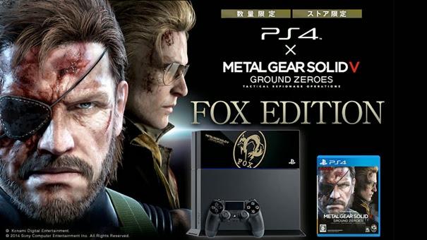 """Imagem de divulgação da edição especial """"Fox Edition"""" para PS4"""