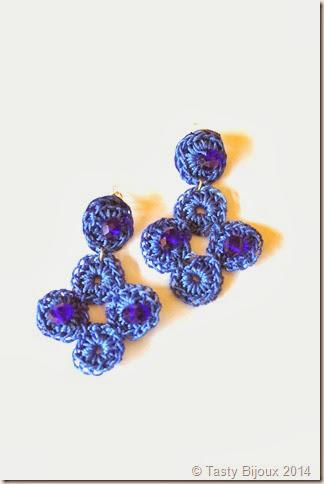"Orecchini ""Circles mini"" by Tasty Bijoux"
