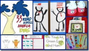Dr Seuss activities Read across america teaching blog addict