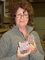 Transfer soap Sarah