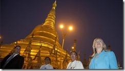 Hillary Clinton in Burma