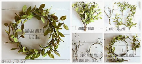 wreath collage