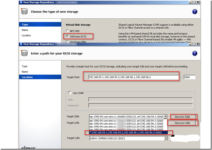 About Roy: How to map iSCSI interface of XenServer 6 0 2 to EMC VNX 5500