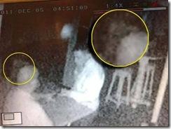 Лицо дьявола на фото с камеры видеонаблюдения