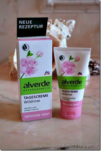 alverde crema viso giorno rosa