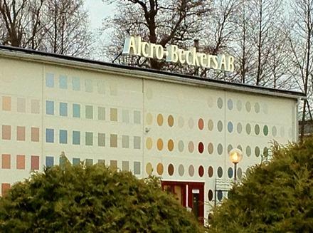 Alcro Beckers Fabrik, Nykvarn