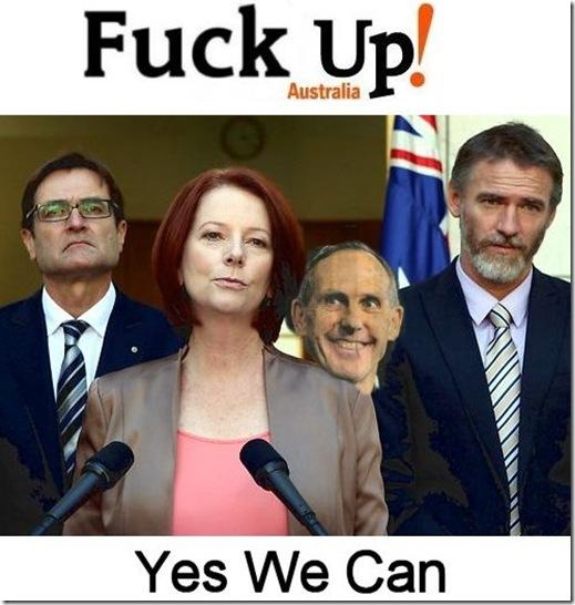 Fuck Up Australia Bob Brown