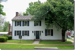 Front View of Grayson's Tavern in Danville, KY (Click any photo to Enlarge)