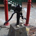 water pomp at ghibli museum in Mitaka, Tokyo, Japan