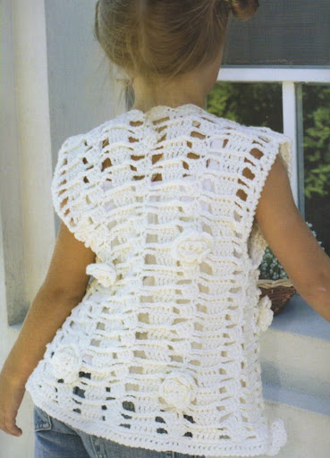 Chalecos De Crochet Para Ninos