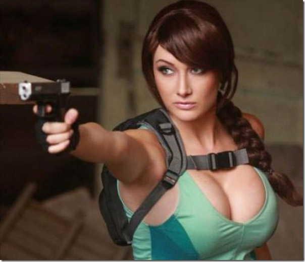 Os melhores cosplays de Lara Croft 1
