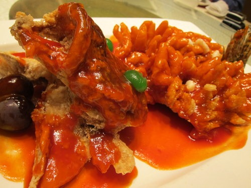 Sweet and Sour Mandarin Fish