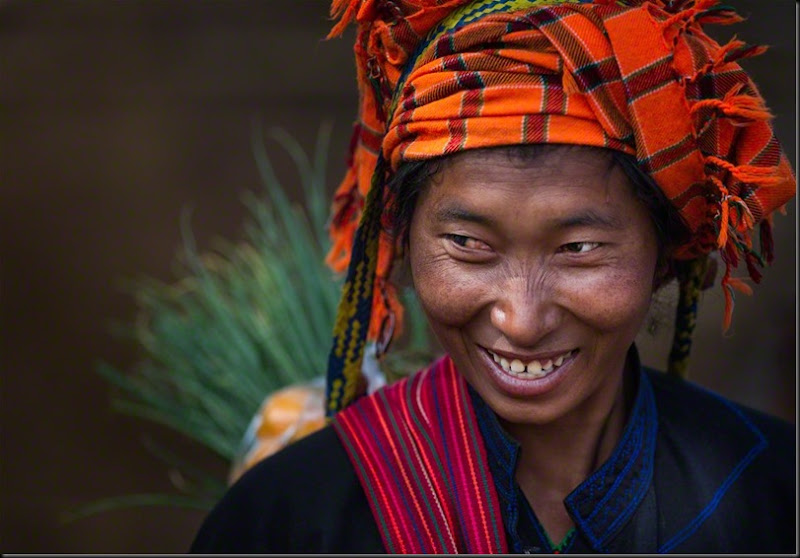 Birmanie, Inle Lake - Pao woman