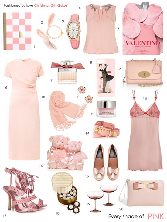 christmas gift guide pink all budgets