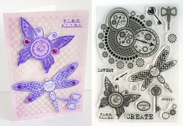 2014Jan22 steampunk stamps inky doodles card samples 1