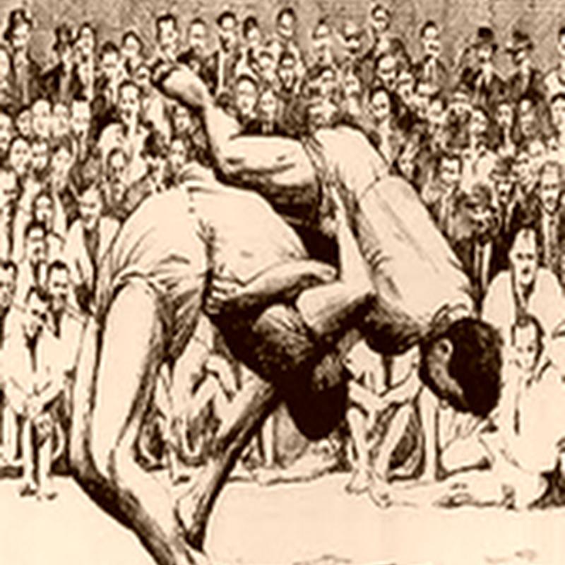 Lucha Canaria - Las Mañas - (Juegos Tradicionales Canarios)