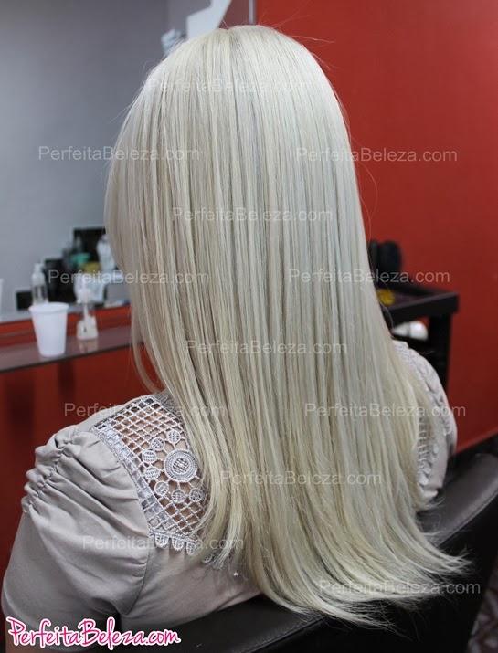 como descolorir o cabelo todo, descoloração global total
