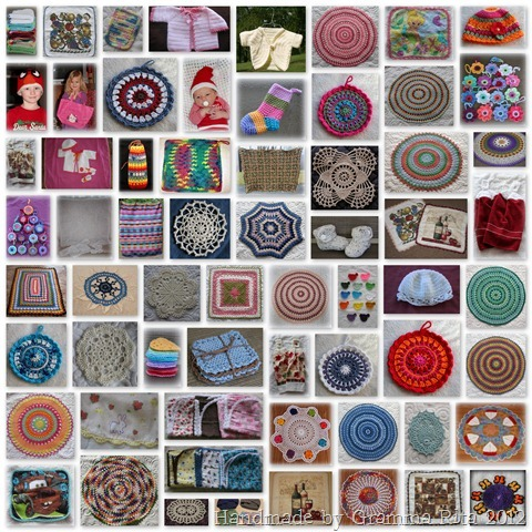 2012 Crochet Collage
