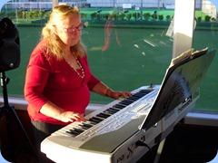 Desiree Barrows playing Jan Johnston's Korg Pa1X