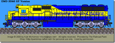 LK&R SD50M