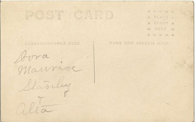 Dora Maurice Stanley and Alta Dorset 1 back