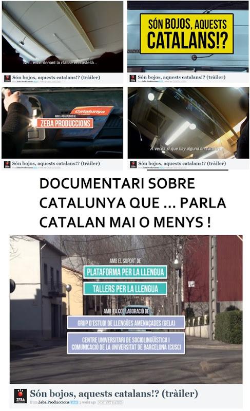 Catalunya parla catalan