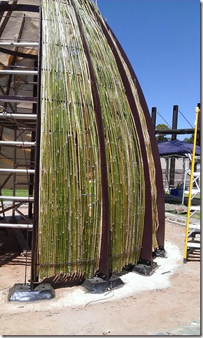 Weaving with bamboo