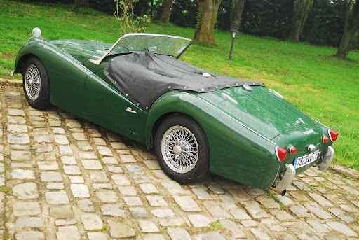 This Triumph TR3A was first